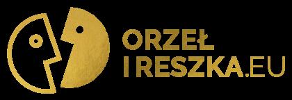 Stowarzyszenie Orzeł i Reszka - Logo w kolorze złotym